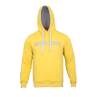 Wildcraft Men Hooded Sweatshirt - Lime