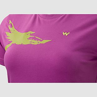 Wildcraft Hypacool Women Bird Printed Tee - Purple
