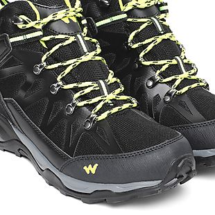 Wildcraft Men Gabbro Black Lime Shoes