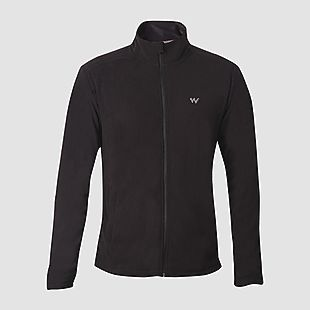 Wildcraft Wildcraft Men Winter Fleece Jacket - Black