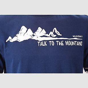 Wildcraft Wildcraft Hypacool Men Mountain Graphic Tee - Blue Melange