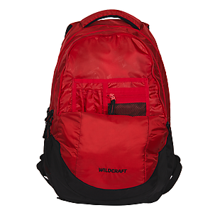 Wildcraft Peza Laptop Backpack With Internal Organizer - Red