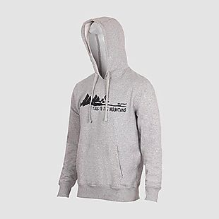 Wildcraft Wildcraft Men Hooded Sweatshirt For Winter - Grey Melange
