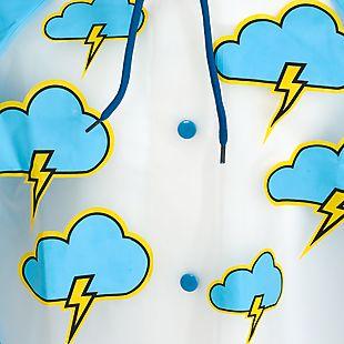 Wildcraft Wiki Sprinkle - Rainwear For Kids 4-8 yrs - White