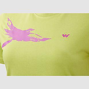 Wildcraft Hypacool Women Bird Printed Tee - Green