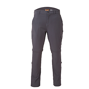 Wildcraft Men Convertible Pants - Dark Grey
