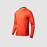 Wildcraft Men Hypacool  Full Sleeve Hiking T Shirt - Rust Orange