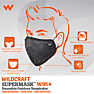 Wildcraft SUPERMASK W95 Plus Reusable Outdoor Respirator - SUBLIMATION CAMO BROWN - Pack of 7
